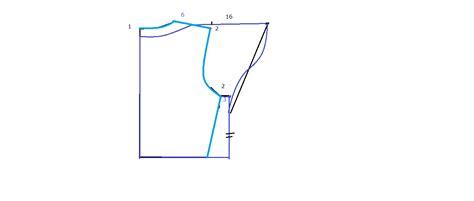 membuat pola baju lengan setali pola baju blus dengan lengan setali 1 danitailor