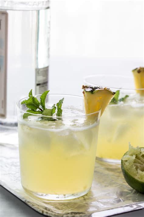 pineapple mojito recipe pineapple mojito cocktail friday jelly toast