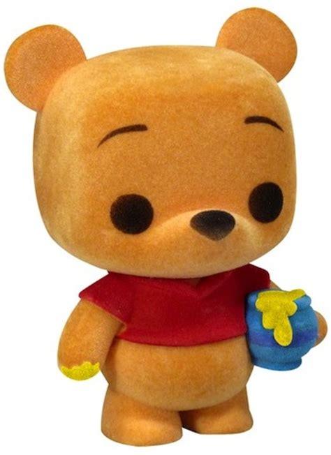 flocked winnie the pooh pop vinyl by funko from