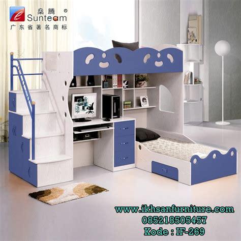 desain kamar owl set kamar tidur tingkat anak jual set tempat tidur anak