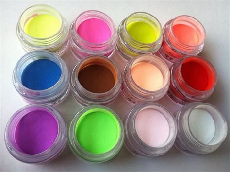 acrylic color powder acrylic powder 12 mix colors acrylic nail tips uv gel