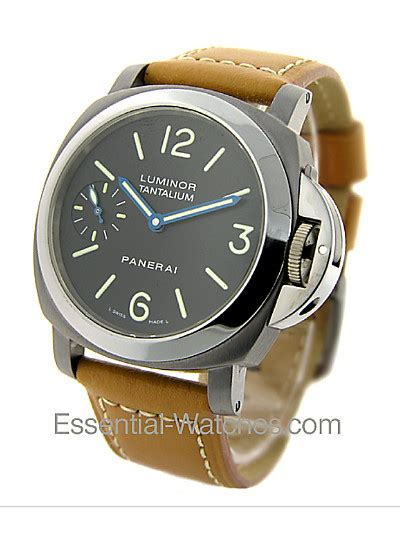 U Boat Premium Automatic Limited pam00172 panerai special editions 2003 essential watches