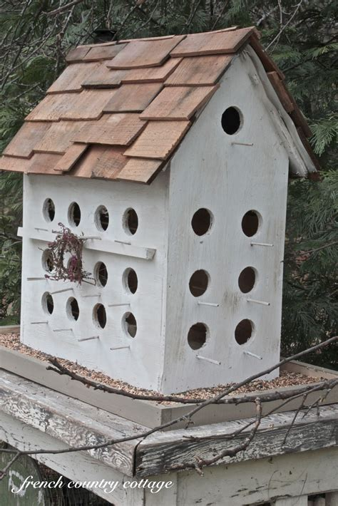 Easy Bird House by A Wee Birdhouse Country Cottage