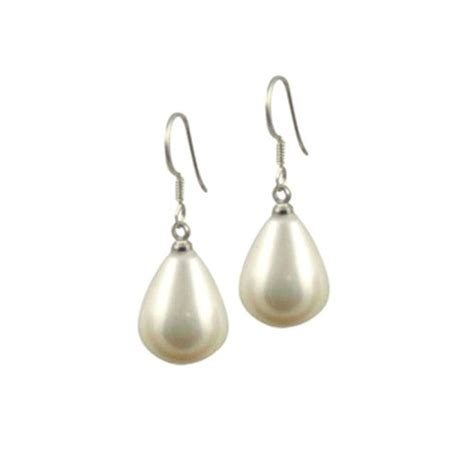 pearl drop earrings from eternal collection