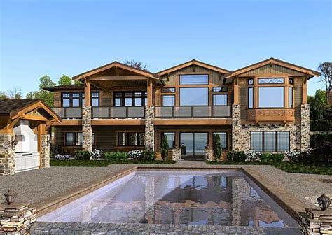 mountain craftsman house plans mountain craftsman home