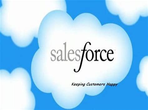 Salesforce Development Authorstream Salesforce Powerpoint Template