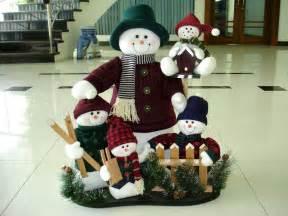 china christmas decoration snowman navidad family set
