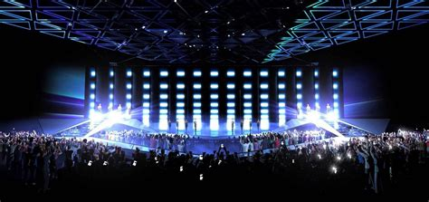 eurovision19 new stage pictures released eurovoix