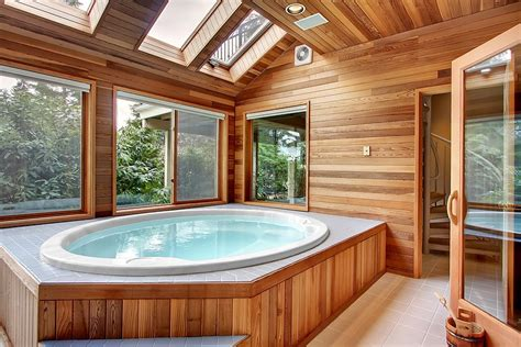 Tub Rooms by How To Decorate For A Hottub Studio Design Gallery
