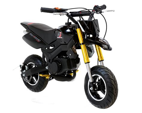 motor bike funbikes motard 50cc 48cm petrol black mini moto bike