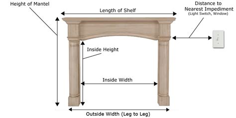Mantel Shelf Height by Fireplace Mantel Faq S And Buying Guide