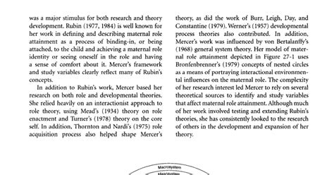 Keperawatan Pediatrik teori keperawatan maternal attainment mra ramona t mercer ilmu keperawatan mari lebih