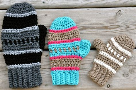 pattern crochet mittens crochet the perfect pair of mittens or fingerless gloves