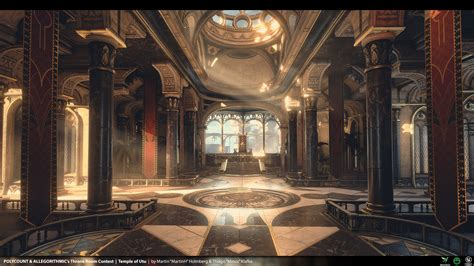 throne room throne room the temple of utu martinh minos polycount
