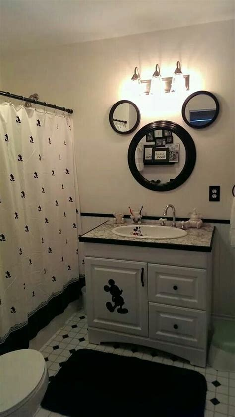 disney bathroom mickey mouse house