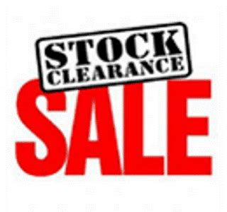 clearance sale gift that send stock clearance sales