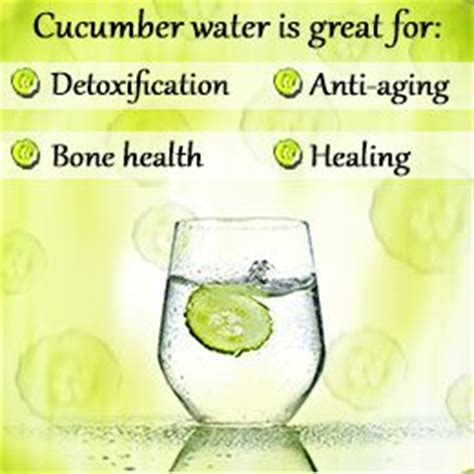 Benefits Of Cucumber Lemon Detox Water by The World S Catalog Of Ideas