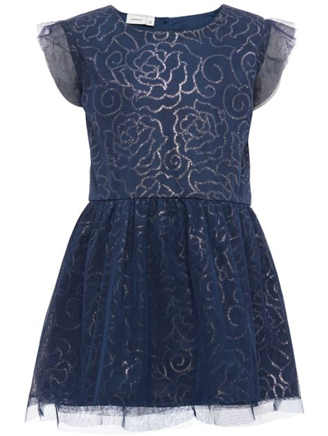 Dress Mimi Ss Sola Ss Dress Mini Kl 228 Nning Dress Blues Name It Smile
