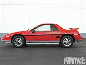 85 Pontiac Fiero Gt 1985 Pontiac Fiero Gt Back From Obscurity High