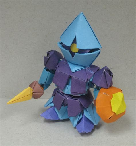 Origami Gundam - gundam inspired origami model gundam kits collection