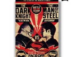 Poster A4 Batman Vs Superman Supes dupla de quadros superman batman elo7