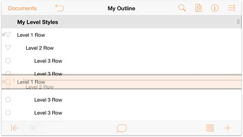 omnioutliner templates omnioutliner 2 9 6 for ios user manual working with