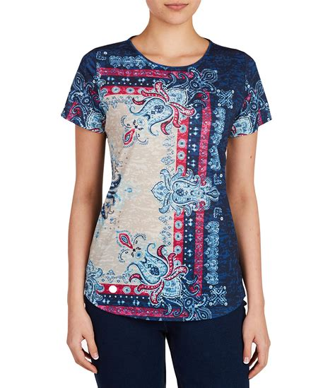 Fast Ola Basic Knitted Crew Neck Top allison daley wide crew neck allover bandana print knit