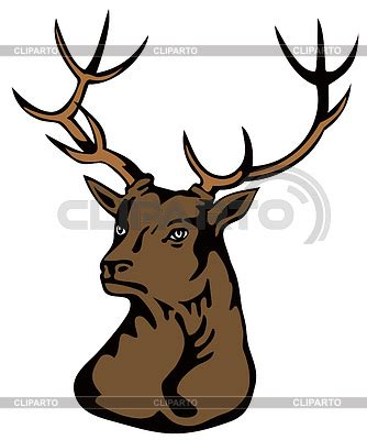 stag head designs stag stock photos and vektor eps clipart cliparto