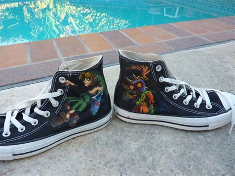acrylic paint on canvas shoe personalize shoes with acrylic