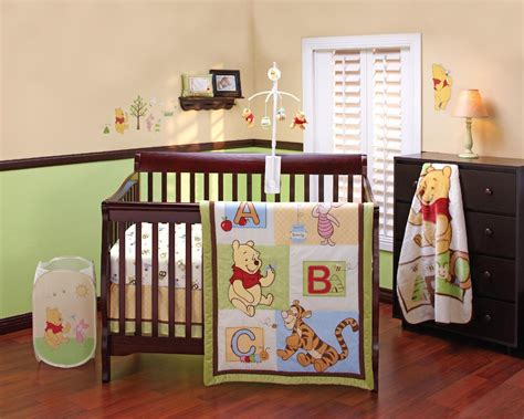 baby nursery bedding sets disney crib bedding set pooh 4