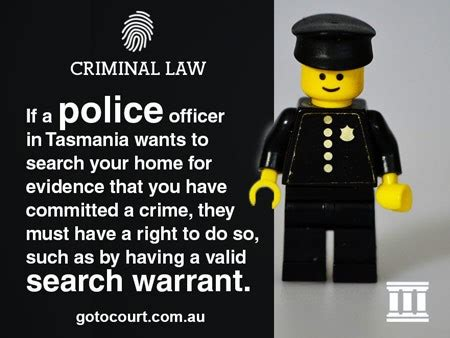 Do Officers Need A Warrant To Search Your Car Information About Search Warrants In Tasmania Criminal