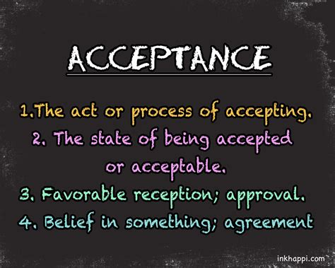 credit one acceptance acceptance current word obsession inkhappi