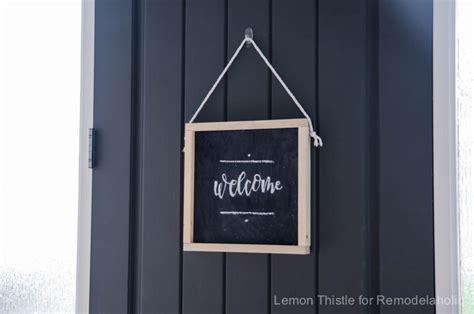 remodelaholic      wooden chalkboard