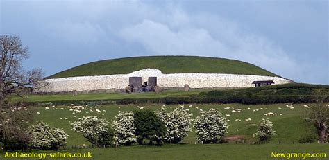 Guest Home Plans by Newgrange Stone Age Passage Tomb Boyne Valley Ireland