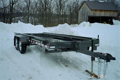 Shed Moving Trailer by Shed Trailers By Creekside Welding