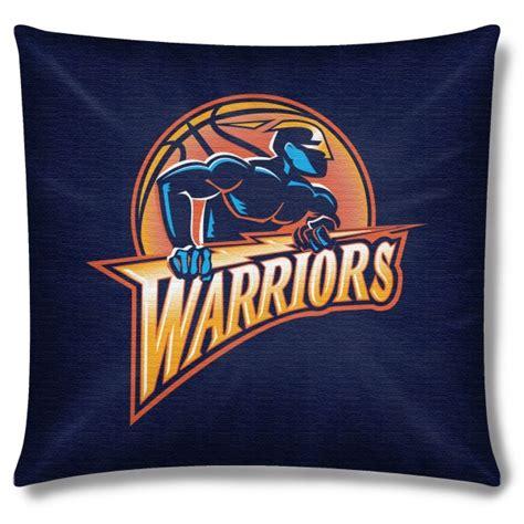 golden state warriors bedding golden state warriors nba 18 quot x 18 quot cotton duck toss pillow