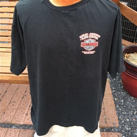 Tshirt Nevada 1996 Blue M S harley davidson harley davidson costa rica mens t shirt