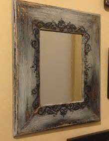 western mirrors for the bathroom 17 best ideas about painted mirror frames on pinterest