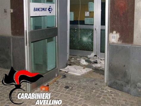 bancomat banco popolare montoro tentato furto al bancomat della popolare