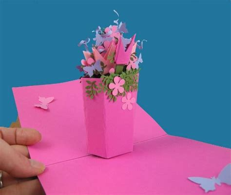 Diy 3d Pop Up Birthday Card Template by Pop Up Cards Mechanisms Templates For Free Diy