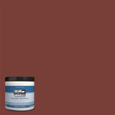behr premium plus ultra 8 oz ppu2 2 pepper interior exterior satin enamel paint sle