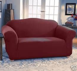 Sofa Loveseat And Chair Slipcover Sets Jersey Stretch 2 Pc Furniture Slipcover Set Sofa