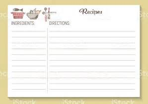 free printable recipe template search results for free printable recipe card template