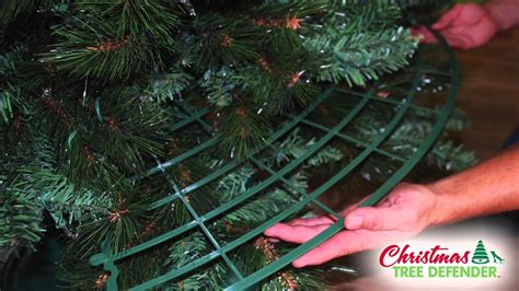 easy assemble christmas tree tree defender assembly