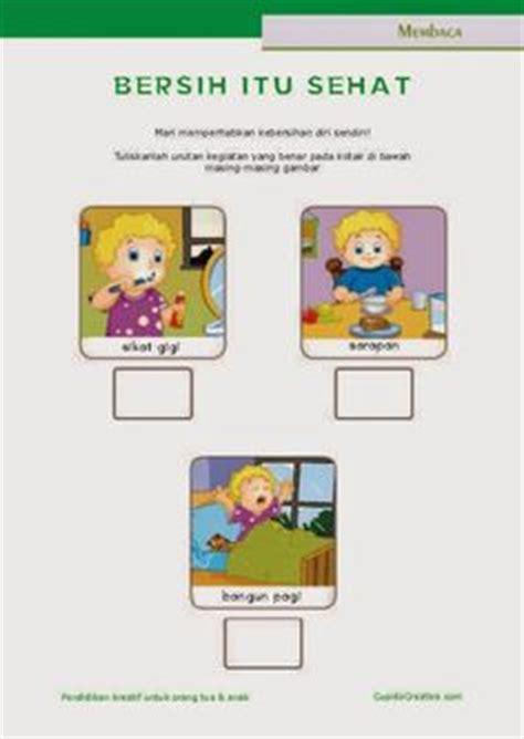 Bangun Kalimat Bahasa Indonesia belajar membaca menulis anak tk sd menyusun kata