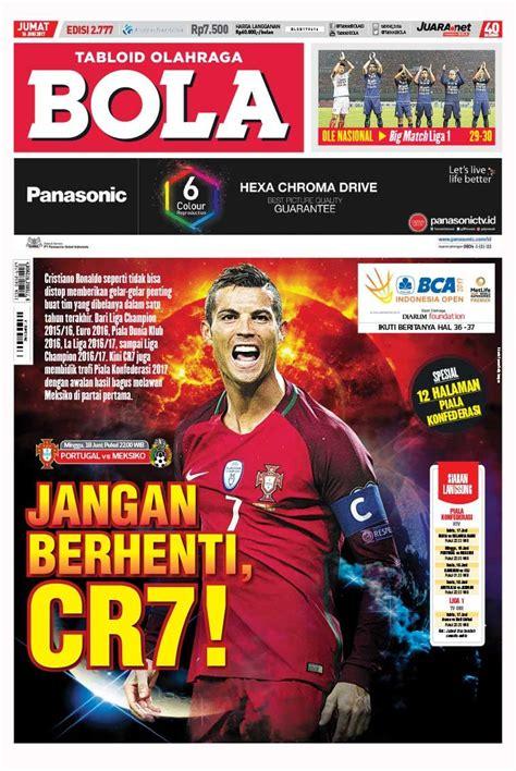 layout majalah bola jual majalah tabloid bola sabtu ed 2777 juni 2017 scoop