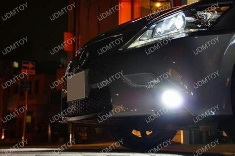 Projieprojector Led Lexus 3 Emiter fit 2013 15 lexus gs f sport bumper jdm style 15w high
