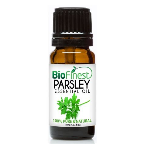 Detox Nauseated by Parsley Leaf Essential 100 Therapeutic Best