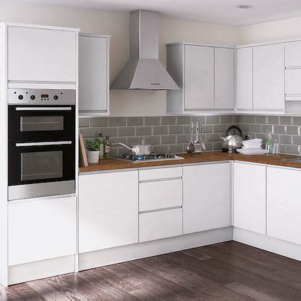 gloss kitchen tile ideas kitchen compare homebase essential kensal high gloss