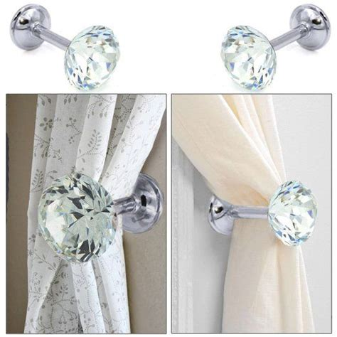 crystal curtain tie back 17 best ideas about curtain tie backs on pinterest